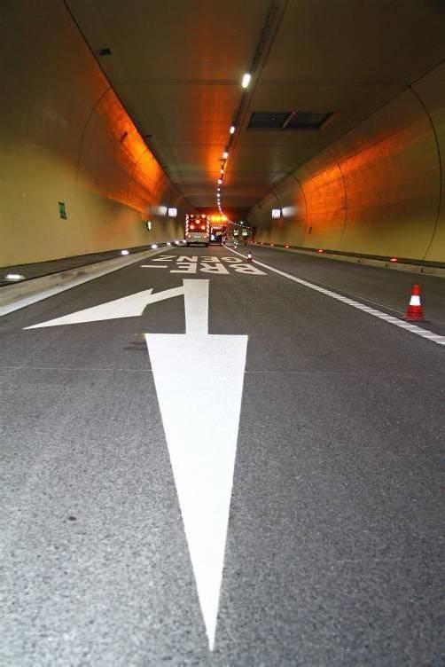 Die Pfändertunnelröhre wird ab Montag gereinigt. vol.at/pletsch