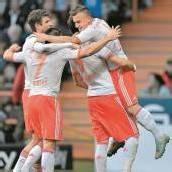 Auch Bremen kann den FC Bayern nicht stoppen