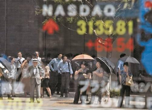 Die Technologiebörse Nasdaq schloss auf dem höchsten Stand seit zwölf Jahren bei 3.135,81. Foto: reuters
