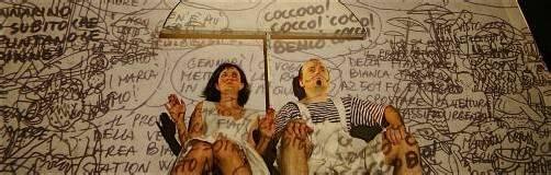 """Die italienische Produktion """"Manolibera"""" wird im Rahmen des Luaga & Losna-Theaterfestivals heute im Feldkircher Pförtnerhaus zu sehen sein. foto: tas"""