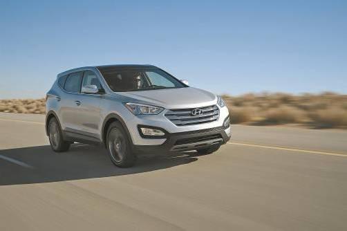 Die neue, die dritte Generation des Hyundai Santa Fe startet jetzt in Österreich - mit Front- oder mit permanentem Allrad-Antrieb. Fotos: werk