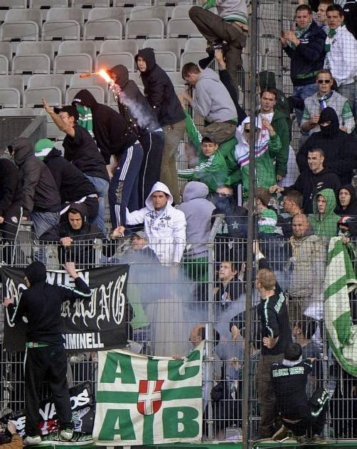Drohungen der Wacker-Fans sorgen für große Unruhe. Foto: apa