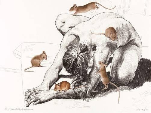 Ebenfalls beim Philosophicum zum Thema Tier: Arbeit von Leissing.