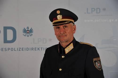 Edelbert Kohler ist stellvertretender Landespolizeidirektor. Foto: polizei