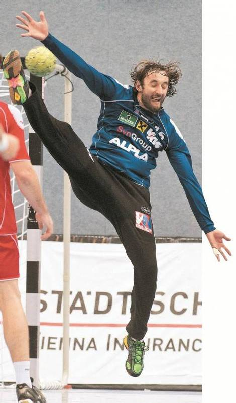 Eine Topleistung von Hard-Goalie Golub Doknic ist die Basis für einen erfolgreichen Auftritt in der Champions League. Foto: steurer