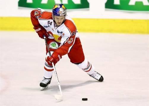 Eishockey-Zukunft: Johannes Bischofberger. Foto: RB/GEPA