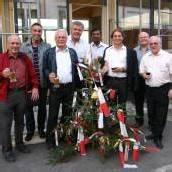 Firstfeier bei neuem Pfarrhof in Bludenz