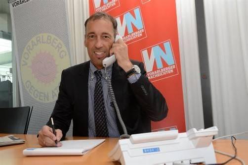 Roland Rupprechter gibt Tipps am VN-Telefon. Foto: Vn/Dünser