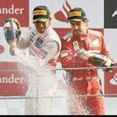 Hamilton siegt Alonso begeistert mit Platz drei /C1