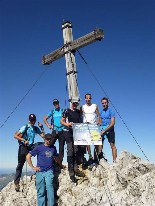 Gipfelsturm brachte 12.000 Euro an Spenden für Hilfsorganisation.
