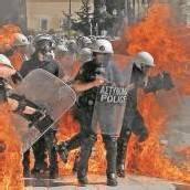 Ausschreitungen in Griechenland