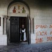 Kloster in Latrun geschändet