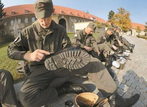 Grundwehrdiener: Bei einer Volksbefragung gäbe es derzeit wohl eine Mehrheit für die Wehrpflicht. Foto: APA