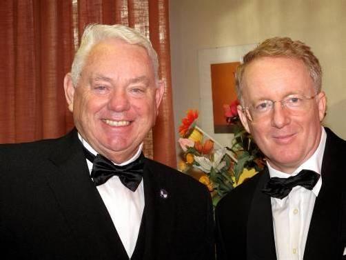 Günther Lutz und Peter Cavall sind in der Dornbirner Stadtpfarrkirche im Duett zu hören. Foto: g. Lutz