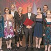 Prominente Gästeschar feierte Russ-Preis-Träger