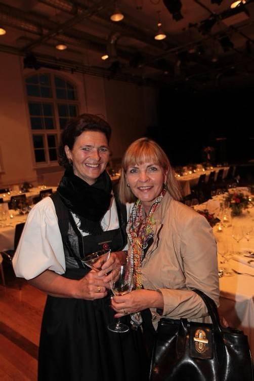 Hemma Mähr (l.) und Michaela Gorbach. FOTOS: A. Meusburger