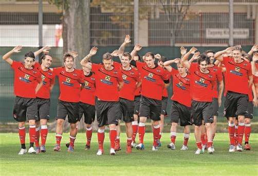 Im Gleichklang: Österreichs Team-Fußballer gehen gut vorbereitet in die morgen startende WM-Qualifikation. Foto: gepa
