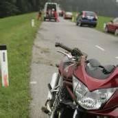Alkoholisierter Biker geriet ins Schleudern