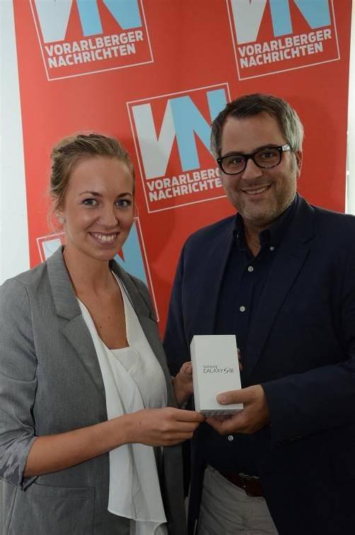 Isabella Buchner gewinnt Samsung Galaxy S3