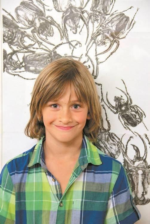 Johannes Klapper ist acht Jahre alt und lebt in Rankweil.