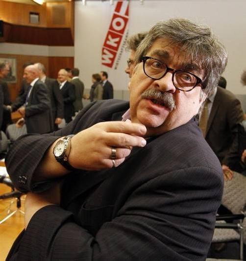 Karl Proyer, stellvertretender Bundesgeschäftsführer der Metallergewerkschaft, bei der gestrigen Verhandlung. Foto: DAPD