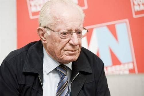 Alt-Industriellenvereinigungs-Präsident Alfons Giesinger war bis zuletzt sozial engagiert.