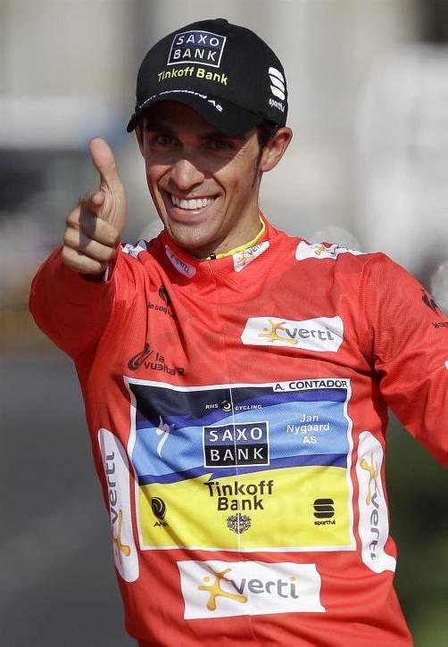 Konnte in Turin feiern: Alberto Contador. Foto: ap