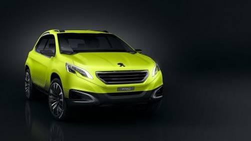 Konzept eines neuen Crossover-Modells von Peugeot. Foto: werk