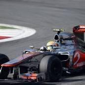 Tagesbestzeit für Hamilton in Monza