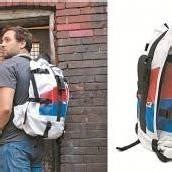 Taschen und Rucksäcke aus alten Sitzbezügen