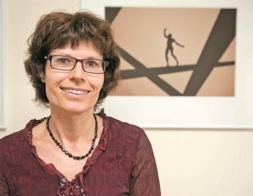Martina Thaler-Schönfeld steht Schülern wie Lehrern als Mentalcoach zur Seite. Foto: VN/Rhomberg