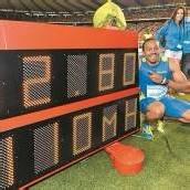 Olympiasieger Merritt mit neuem Weltrekord