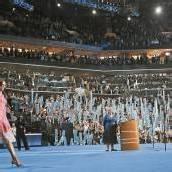 First Lady auf Stimmenfang