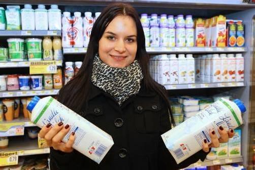 Milch und Butter sollen teurer werden.  Foto: VN/Hofmeister