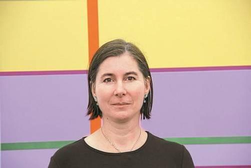 Miriam Prantl hat ihre Lichtarbeiten weiterentwickelt. Foto: AG