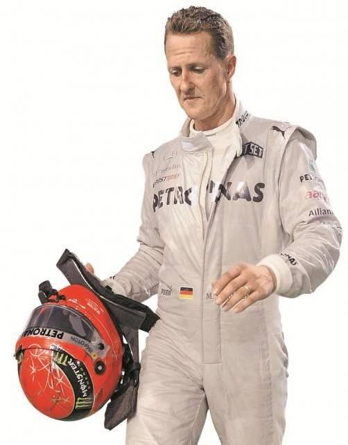 Nach dem Crash mit Vergne zerknirscht: Schumacher. Foto: ap