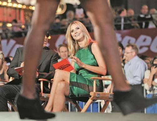 Nicht viel zu lachen hat Heidi Klum derzeit. Die Scheidung von Seal wird zum öffentlichen Rosenkrieg. Foto: AP
