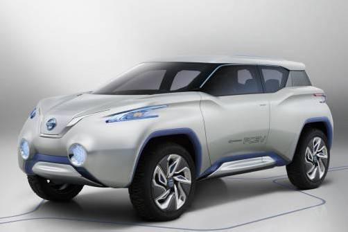 Nissan zeigt Ende September in Paris den Terra. Foto: werk