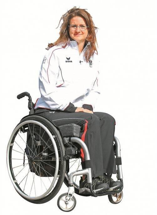 Paralympics-Teilnehmerin Sabine Weber-Treiber. Foto:gepa