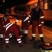 Mann von Zug erfasst – schwer verletzt