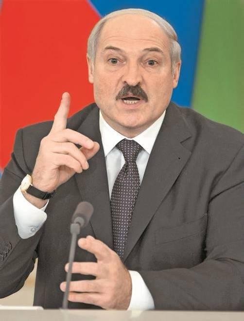 Präsident Lukaschenko geht gegen Oppositionelle vor. Foto: DAPD
