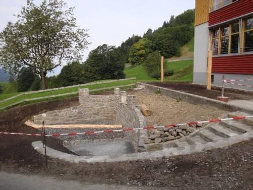 Rund 40.000 Euro investiert Laterns in den Spielplatz. Gemeinde