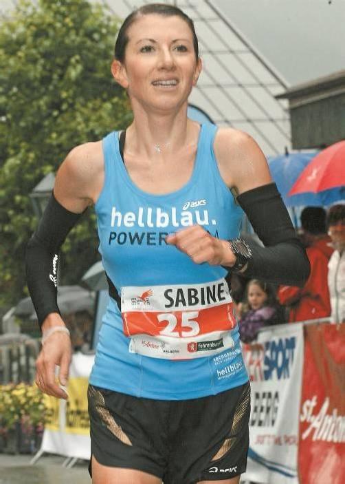 Sabine Reiner belegte Rang fünf bei der Berglauf-WM. Foto: privat