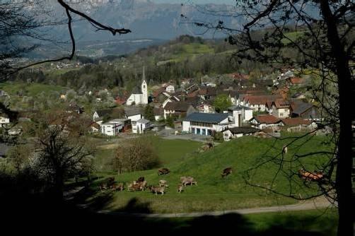 """Schauplatz einer """"außertourlichen Gemeindewahl"""" am Sonntag: die Kleingemeinde Schnifis im Walgau. Fotos: Hronek 2, Privat"""