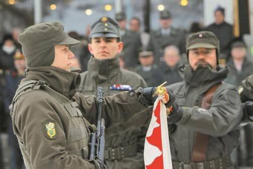 So viele Fragen bleiben in der Wehrdienstdebatte unbeantwortet. Foto: VN/Hofmeister