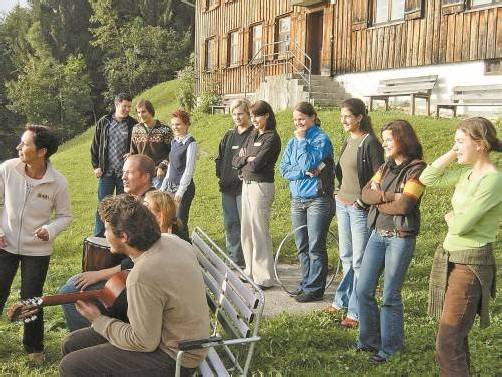Sozialbetreuer sind in vielerlei Sparten tätig (hier ein Bild von der Ausbildung) – nun ist die Gründung eines Berufsverbandes geplant. privat