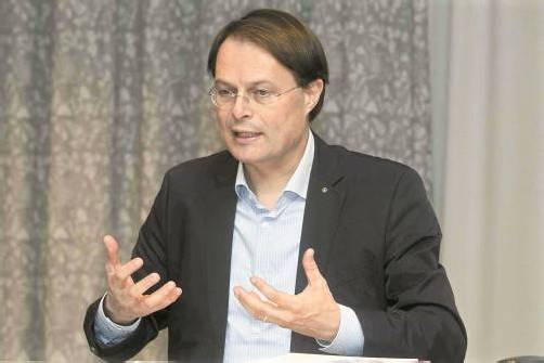 Spar-Vorstandschef Gerhard Drexel im VN-Gespräch.