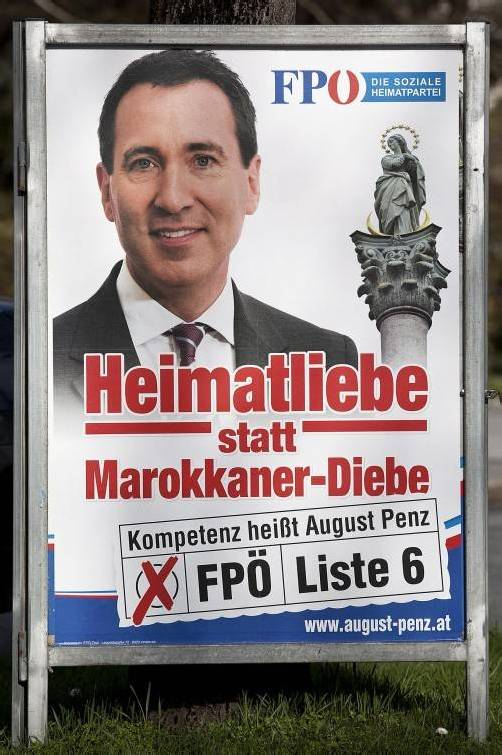 Penz ist wegen Volksverhetzung angeklagt. Foto: apa