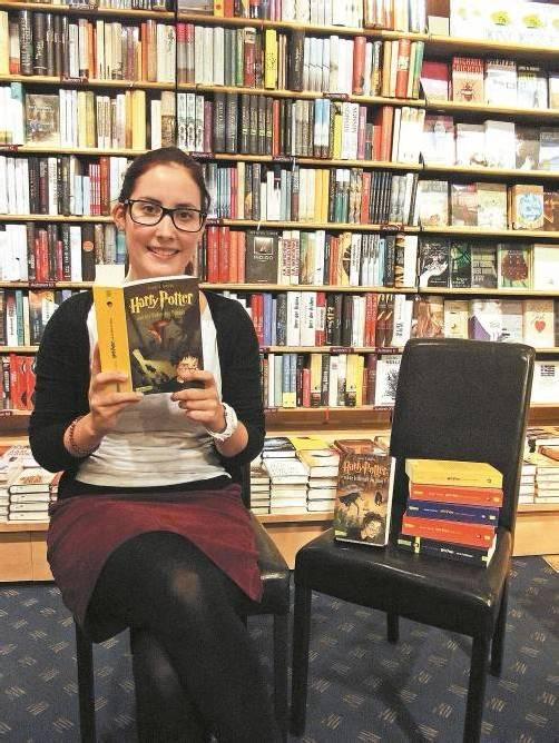 Stefanie Blodnig, Literaturfan und Pädagogik-Studentin, hält das Gesamtschulsystem übrigens für probat. Foto: Julia BÖhler