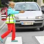 Kampf der Gefahr am Schulweg
